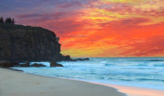 Redhead Sunrise